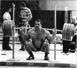 Bill Starr squat