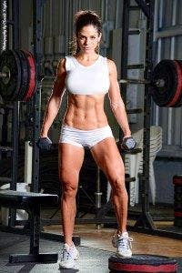 Michelle Lewin, nota fitness model
