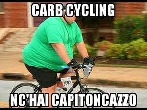 carbs cycling