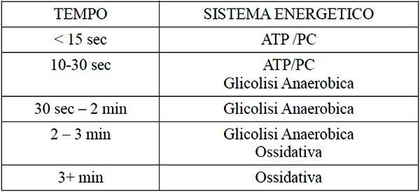 I sistemi energetici non agiscono mai a compartimenti stagni ma vengono utilizzati contemporanemente