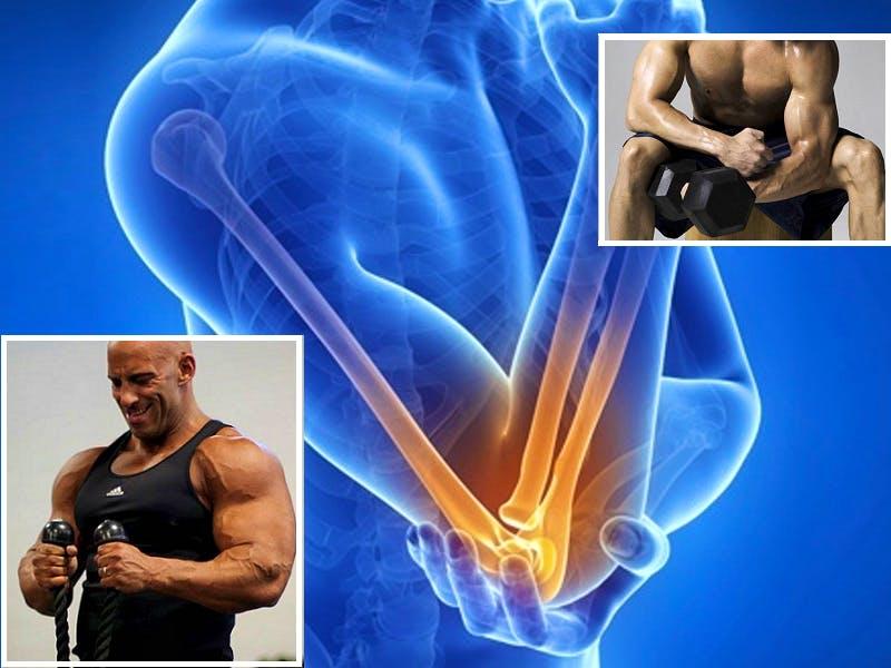 dolore al gomito