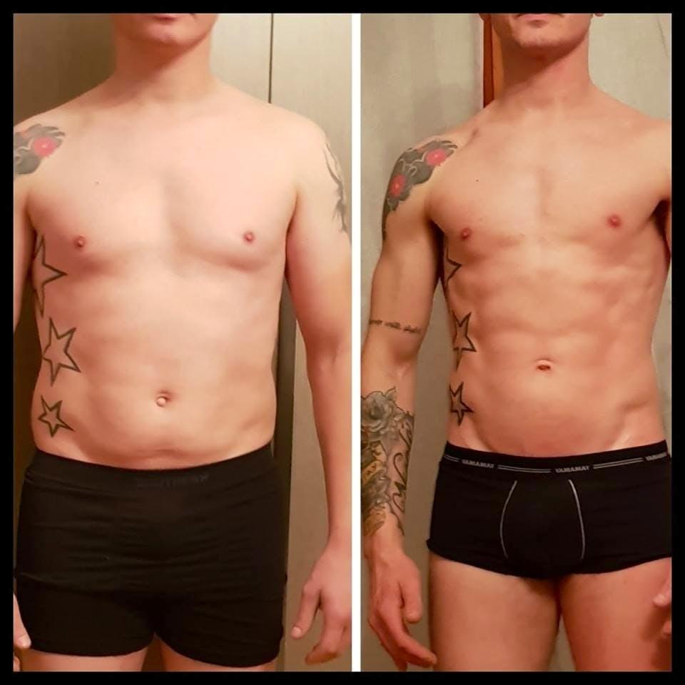 risultati ricomposizione corporea