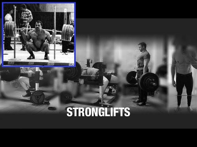 allenamento stronglift