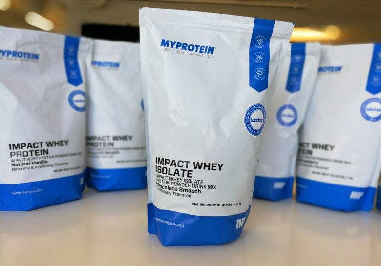 whey isolate myprotein