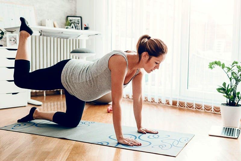 allenamento gravidanza