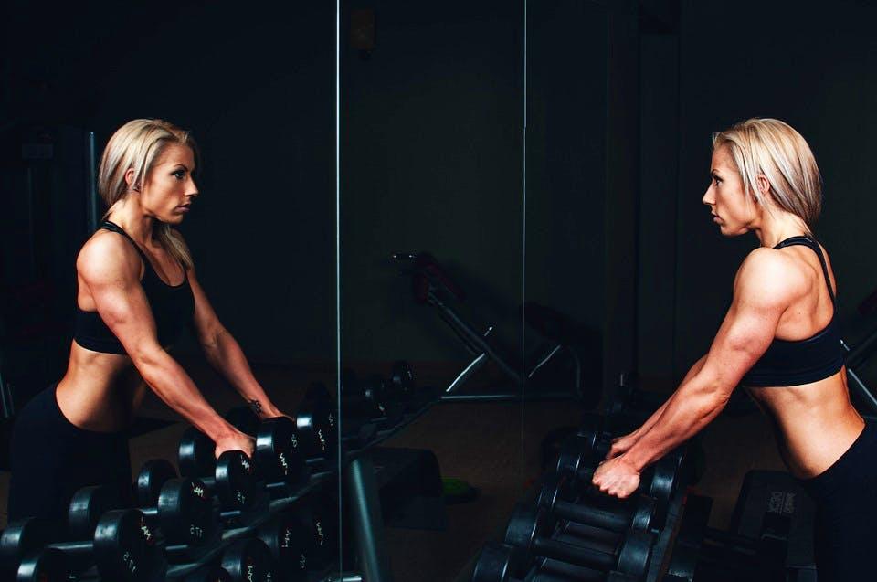 donna allenamento